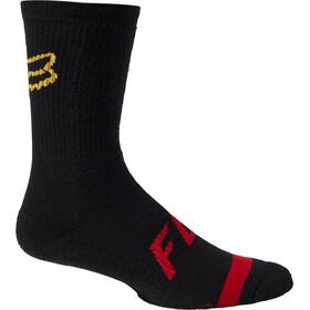 "Fox 8"" Defend Socks Men, negro"
